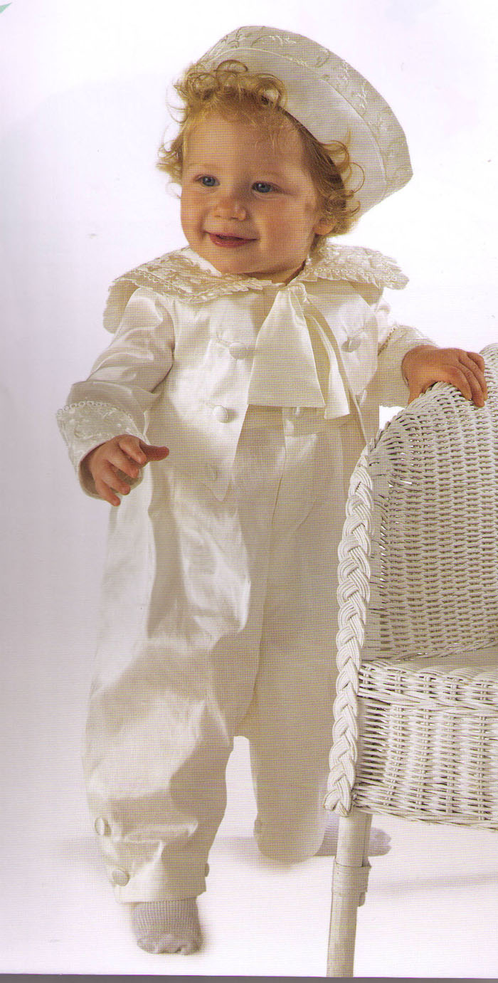 Heirloom Christening Romper Collection > Boys Christening Gowns ...